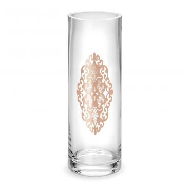 Vaso Arabesque gold rose